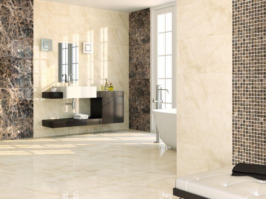 savana cream marble effect bathroom wall tile  marble