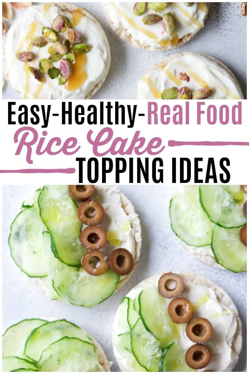 Healthy Rice Cake Topping Ideas Recipe Healthy Food Delivery