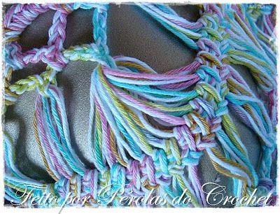 * Pérolas do Crochet: Blusa em croche de grampo                              …