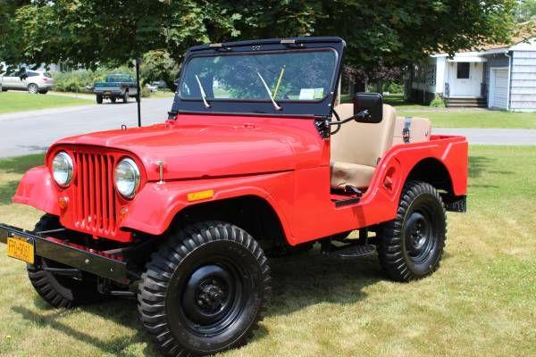 1961 Jeep Cj5 Willys Jeep Jeep Cj Jeep Cj5