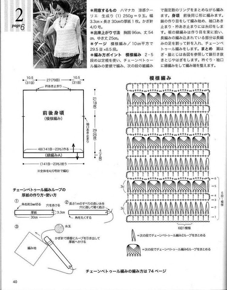 【转载】春夏のかぎ針あみ(NV 80257vol.14 2012) - 荷塘秀色 - 茶之韵