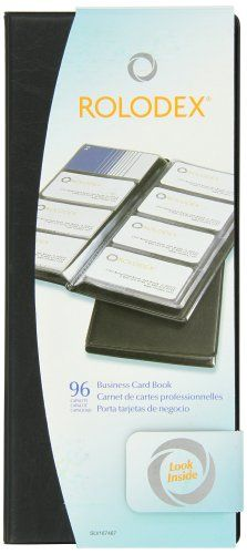 Rolodex vinyl business card book with a z tabs holds 96 cards of rolodex vinyl business card book with a z tabs holds 96 cards of 225 x 4 inches black 67467 rolodex httpamazondpb0006yzv1iref colourmoves