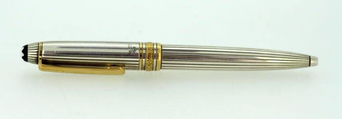 42eb017054a2 Currently at the  Catawiki auctions  Montblanc Meisterstück - Vintage  sterling silver ballpoint pen