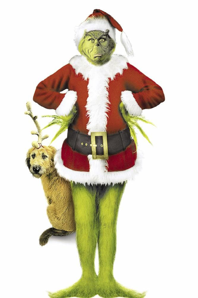 SEUSS' HOW THE GRINCH STOLE CHRISTMAS, Jim Carrey, 2000 ...