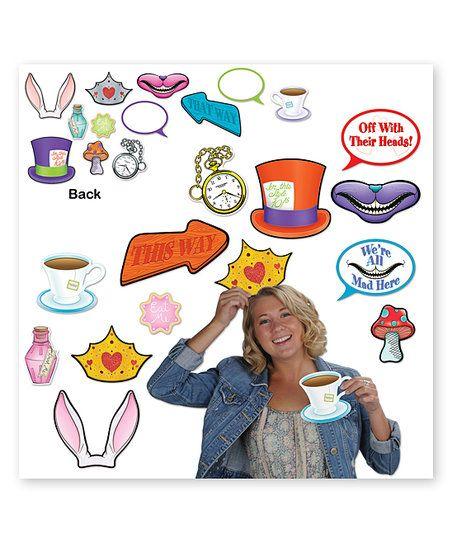 Alice In Wonderland Photo Fun Signs   zulily