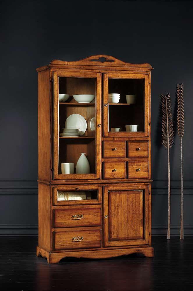 Alacena de madera alacenas y o vitrinas pinterest alacena madera y vitrinas - Alacenas de madera para cocina ...