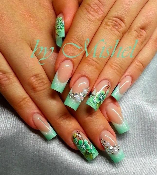 Pin de MILAGRO Vargas en Uñas | Pinterest | Diseños de uñas, Arte de ...