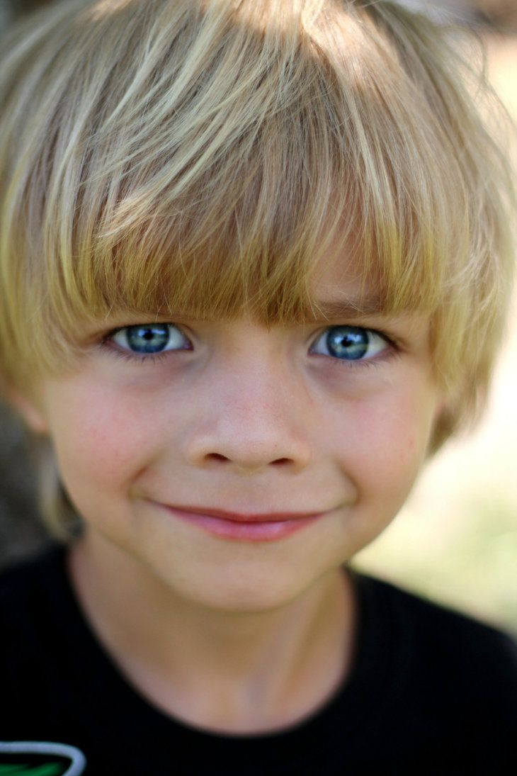 A Little Boy By Puppers1 On Deviantart Blonde Baby Boy Boys Long Hairstyles Kids Little Boys