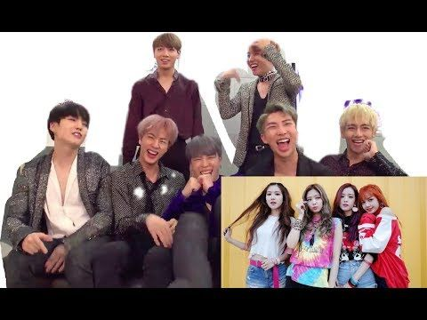 BTS reaction to BLACKPINK - AS IF IT'S YOUR LAST | Lisa