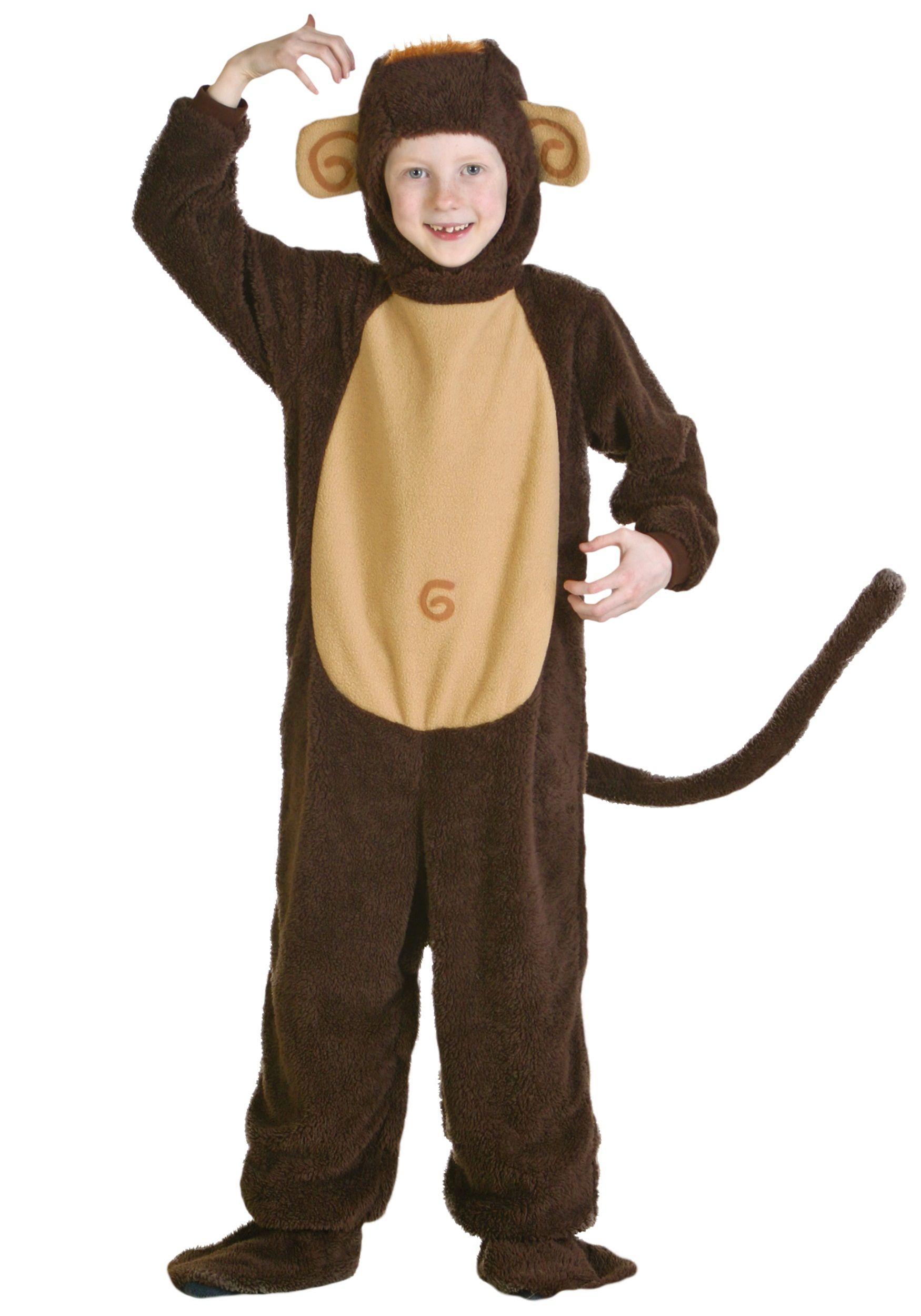 Child Monkey Costume | Monkey costumes, Costumes and Halloween ...