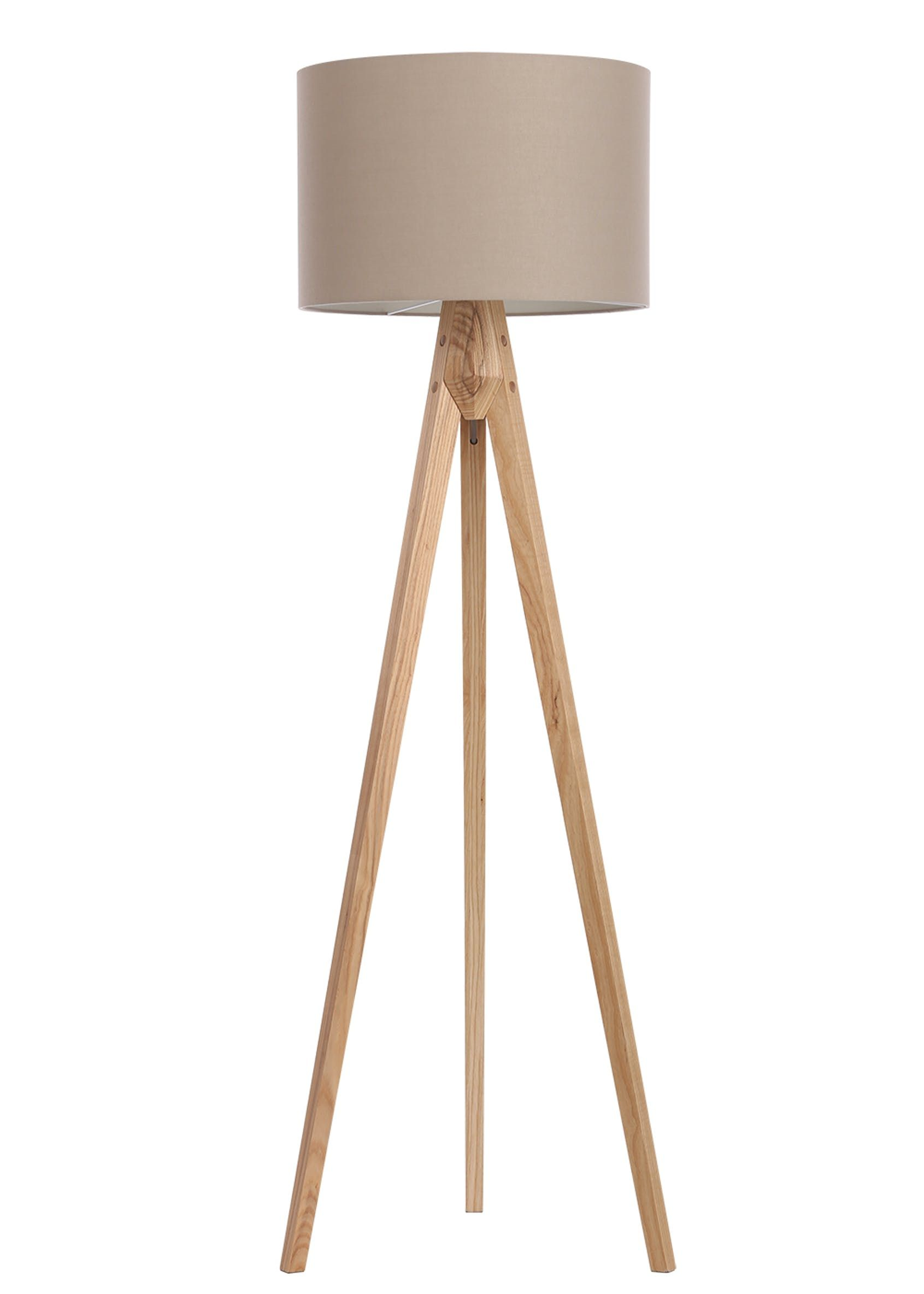 Travis Tripod Floor Lamp H152cm X W45cm Cream In 2020 Floor