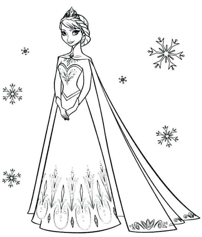 Cute Disney Princess Coloring Pages Elsa Coloring Pages Disney Coloring Pages Elsa Coloring