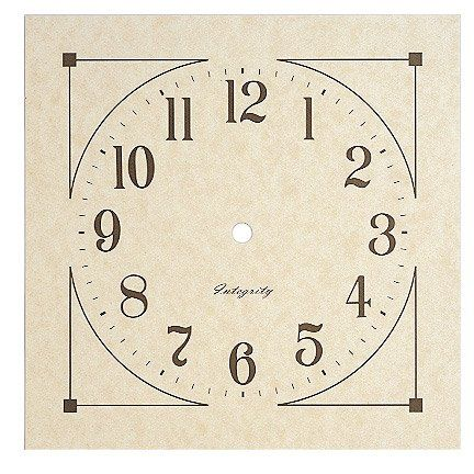 7 7\/8 - clock face template