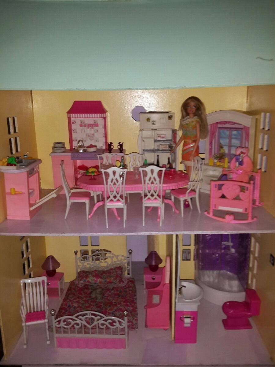 Resultado de imagen para casa de barbie | barbie | Pinterest | Casa ...