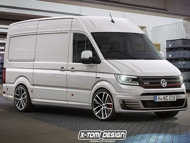 vw t6 r gti krasse transporter illustration design. Black Bedroom Furniture Sets. Home Design Ideas