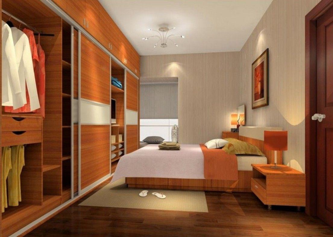 Design Modern For Bedroom With Fantastic Wooden Wardrobe Sliding Door Interior