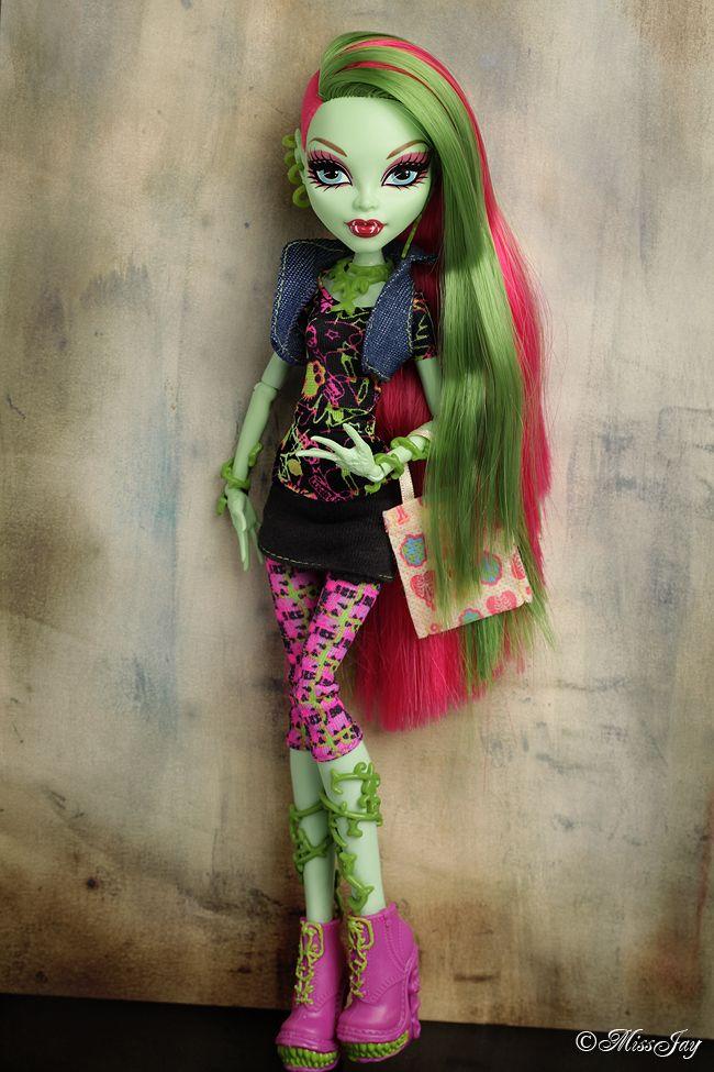 Venus Mcflytrap Doll Monster High Ve...
