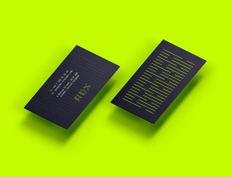 Rdx Event Management Business Card Business Card Design Inspiration Business Card Design Inspiration Event Management Business Event Planner Business Card