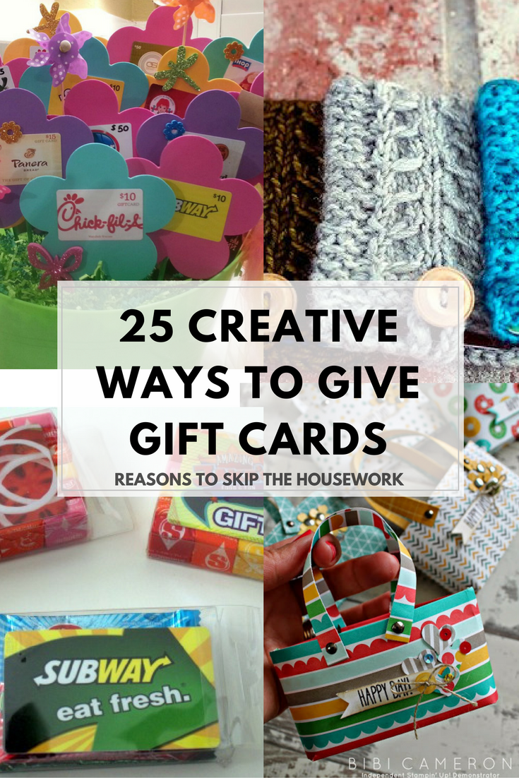 25 Creative Gift Card Holders Unique gift cards, Best