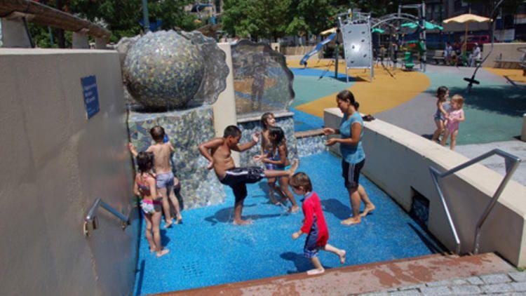 Chelsea Waterside Playground Water Playground Playground Chelsea