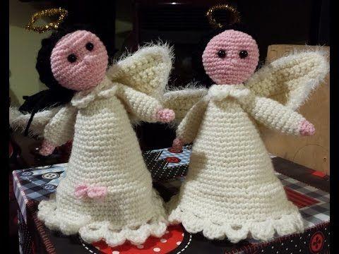 Angioletto All Uncinetto Bomboniera Comunione Angel Crochet Youtube Crochet Dolls Easter Crochet Christmas Crochet