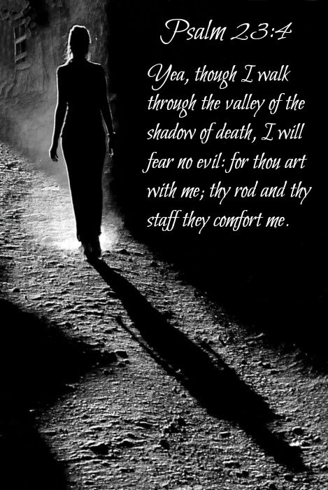 recipe: as i walk through the valley of the shadow of death verse [11]