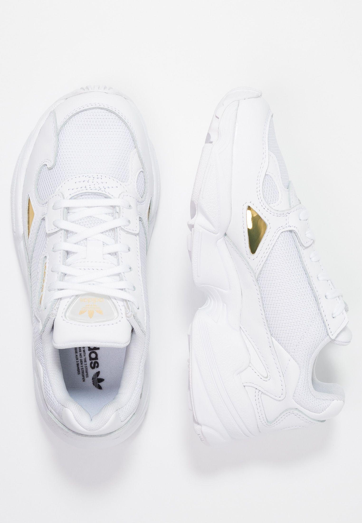 nl MetallicZalando Footwear Whitegold Sneakers Laag Falcon shQdtr