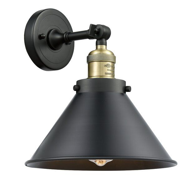 Photo of Stonecrest 1-light armed wall lamp