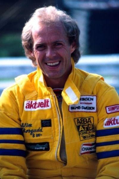 Karl Edward Tommy ' Slim ' Borgudd  - Sueco (Ex Baterista do ABBA & Ex Piloto da Tyrrell)