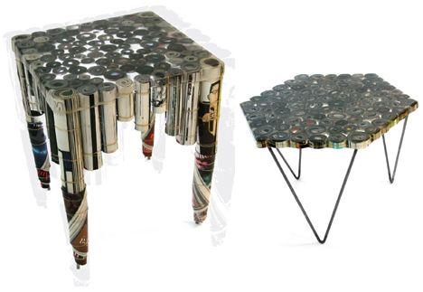 recycled furniture design. 15 Strangely Stylish Sustainable Furniture Designs Recycled Design