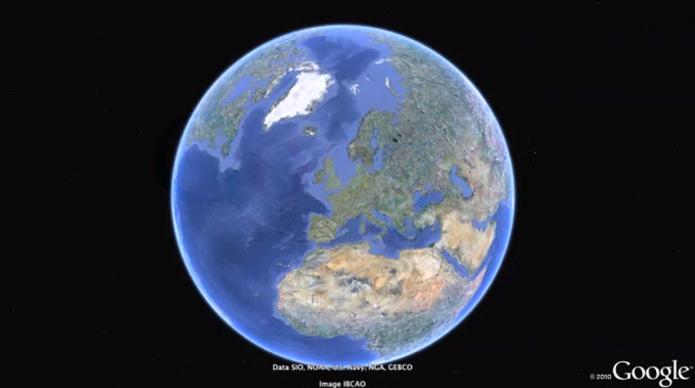 Como ver árvores em 3D no Google Earth