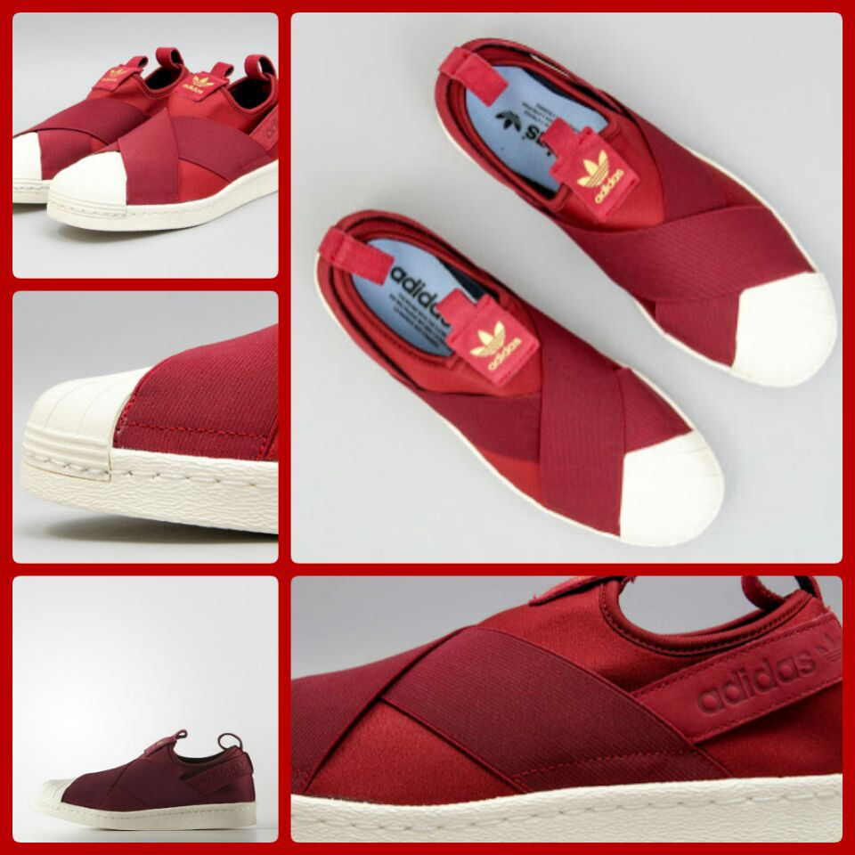 002bb812cfb40 I love this red slipon  superstar  adidas