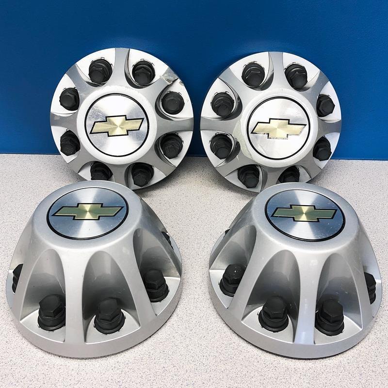 2008 2010 Chevrolet Silverado 3500 Dually 8076 Wheel Center Caps