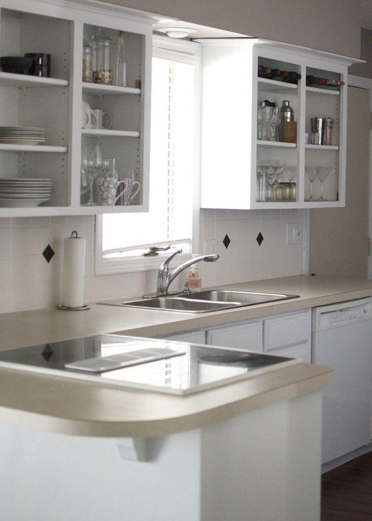 Best Easy Kitchen Cabinet Update Three 8 Cans Of Valspar 640 x 480