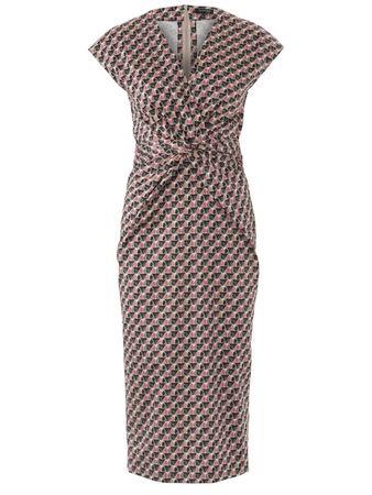 4f5531de991 Платье с драпировкой на талии - выкройка № 6411 из журнала 13 2018 Каталог  Burda – выкройки платьев на Burdastyle.ru