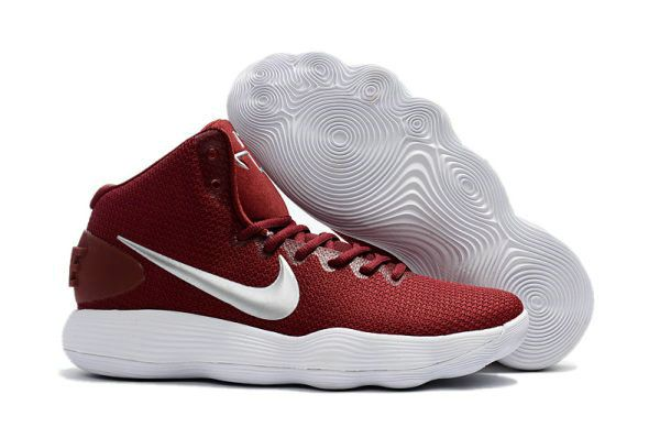 Nike Hyperdunk 2017 Amazing Nike Hyperdunk 2017 EP Low Cavs Wine Red Silver  For Discount