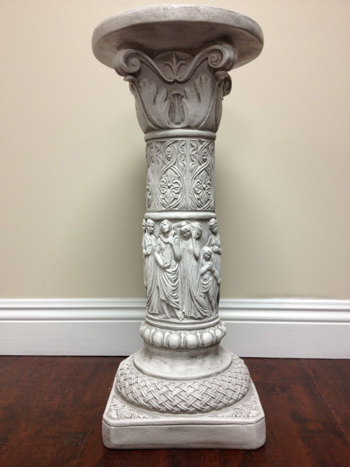 etc stone square decorative carving pilaster roman column pedestal pillar statue columns