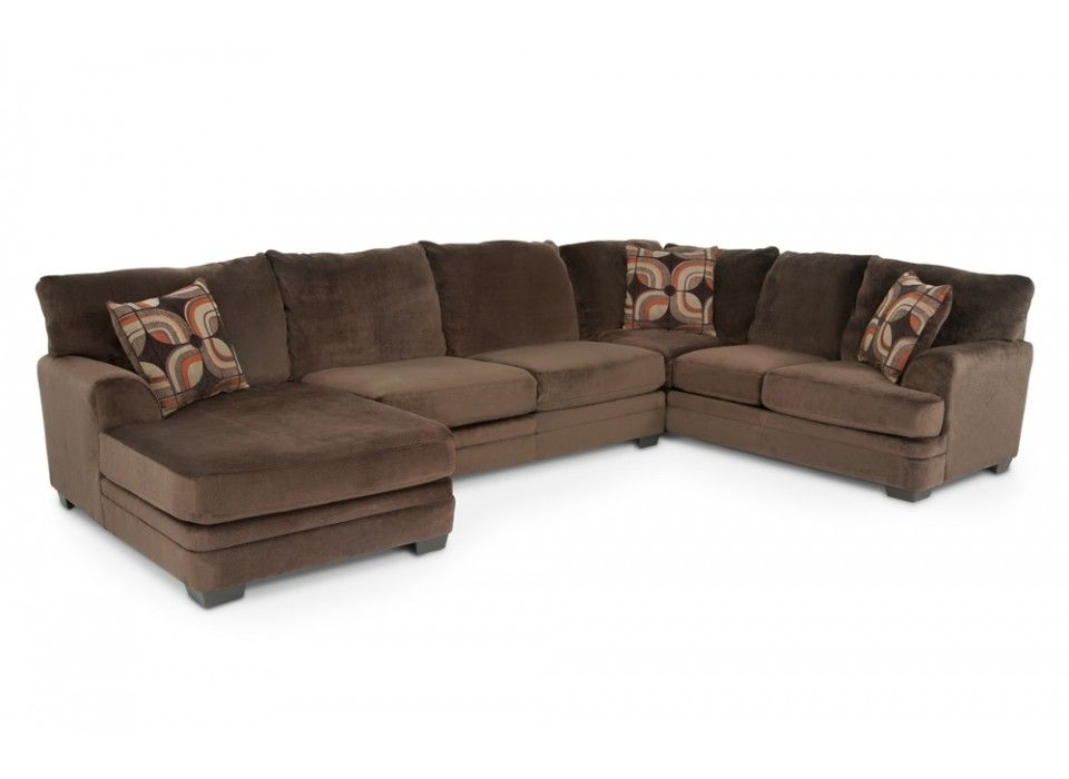 Charisma 3 Piece Right Arm Facing Sectional Sectionals Living