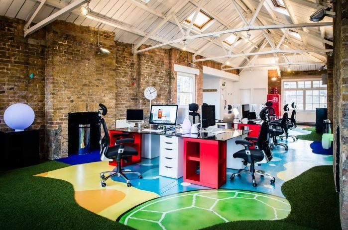 trendy and fun workspace Google Search Workspaces Pinterest