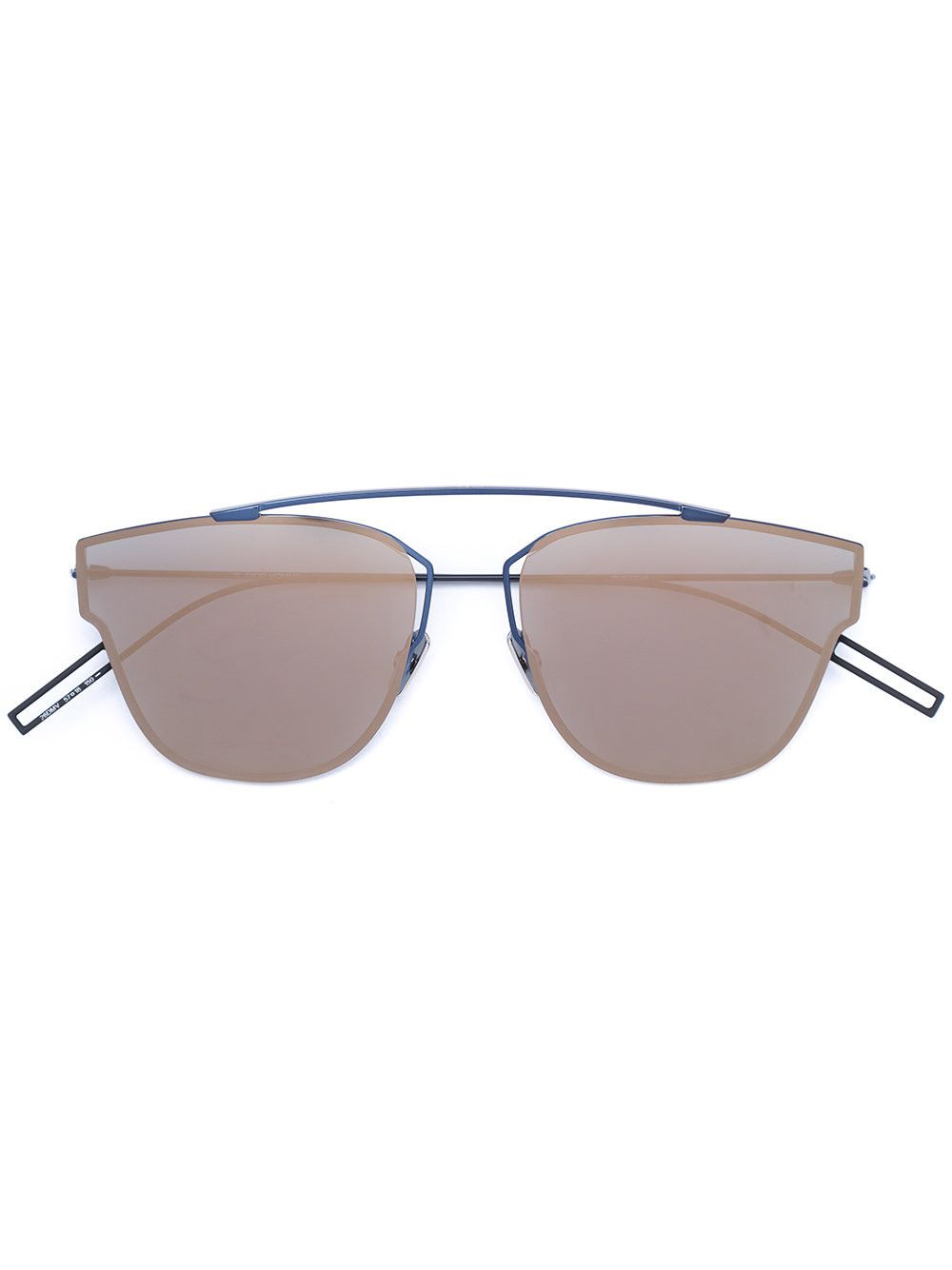 cf7e54e5be2a8 Christian Dior  204s  rimless aviator sunglasses