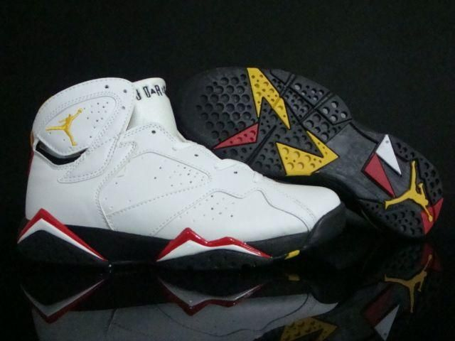 2af537fb822 Air Jordan 7 Retro Cardinals White Black Cardinal Red Bronze