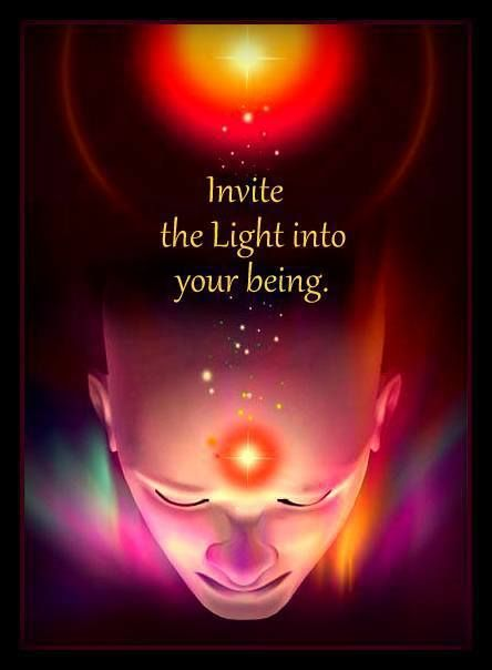 Invite the light.....