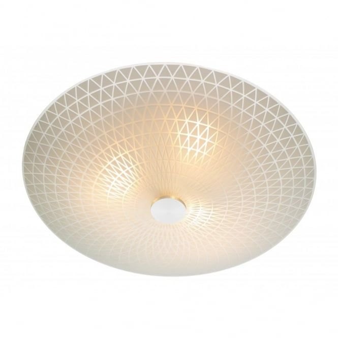 Colby circular frosted glass flush ceilling light adult bedroom large diameter circular flush fitting ceiling light with attractive diamond pattern on frosted glass shade decorative light fitting for lighting in rooms mozeypictures Choice Image