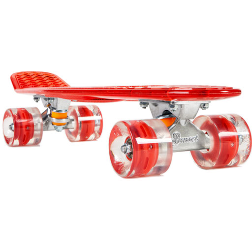 Sunset Lifeguard Skateboard Complete (Red Red)  99.95  4efb49ab101