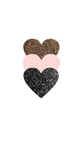 triple glitter heart phone wallpaper - #Glitter #Heart #Phone #triple #wallpaper -  - #backgrounds