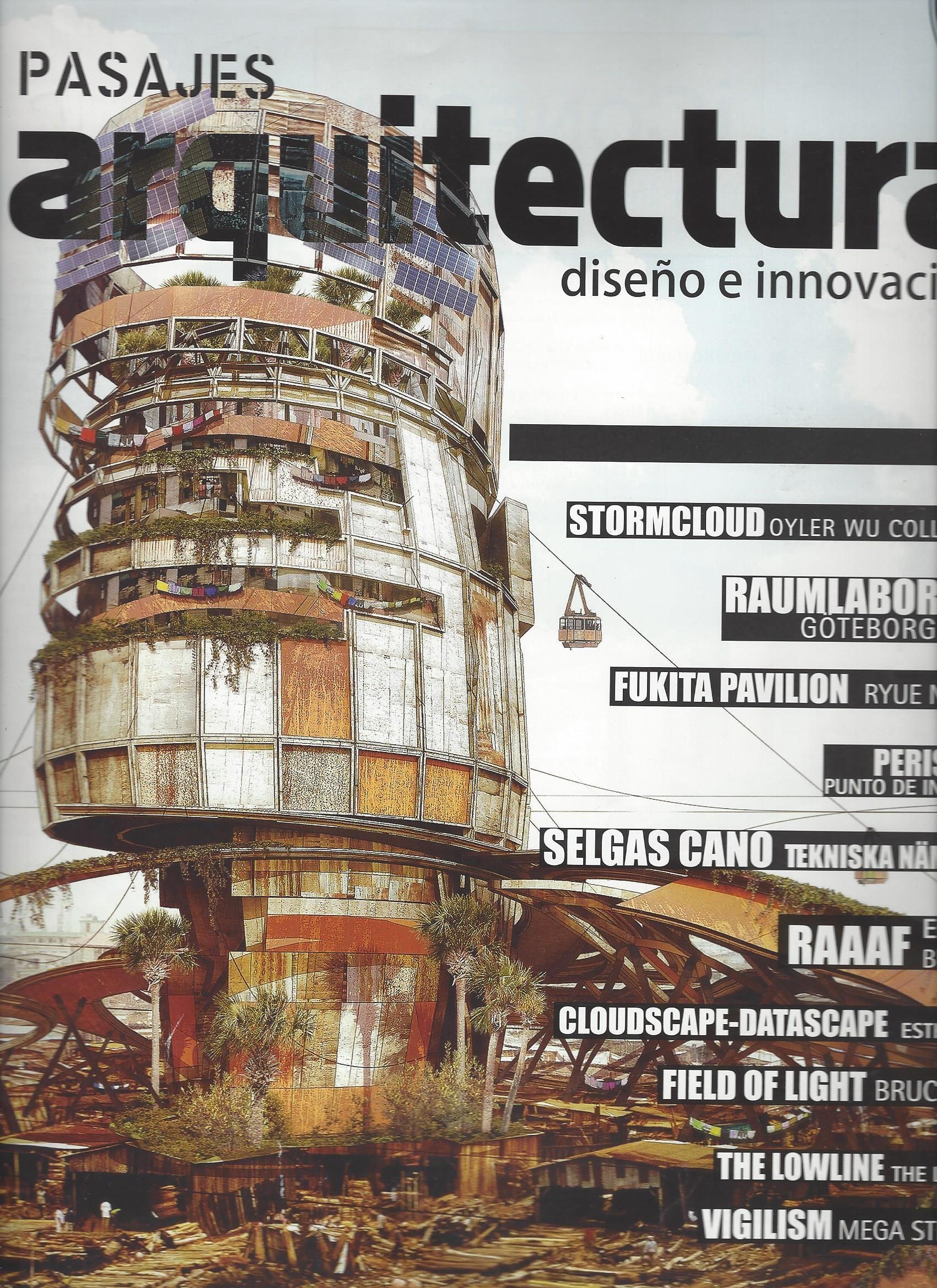 Pasajes arquitectura diseño e innovación (Madrid) / NA 5 P3 NO 140 2015