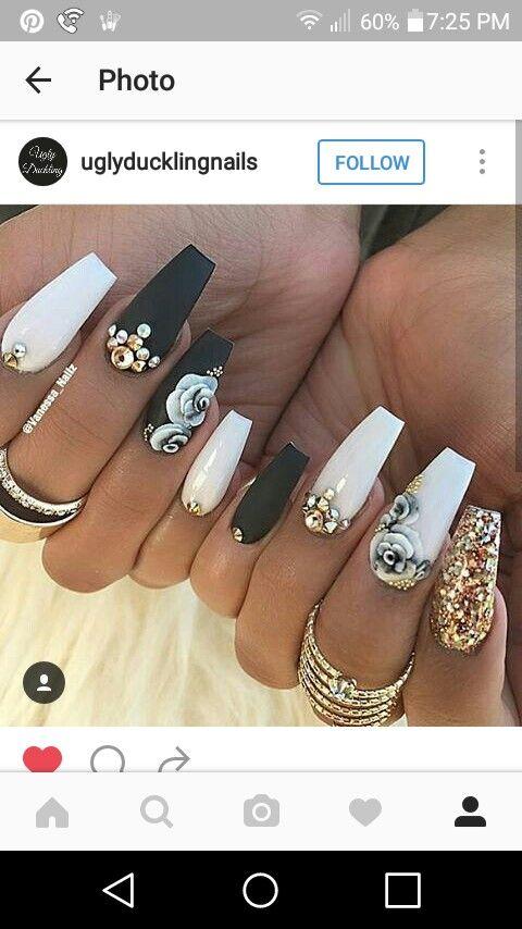 Pin de Icecouture couture en nail game | Pinterest | Diseños de uñas ...