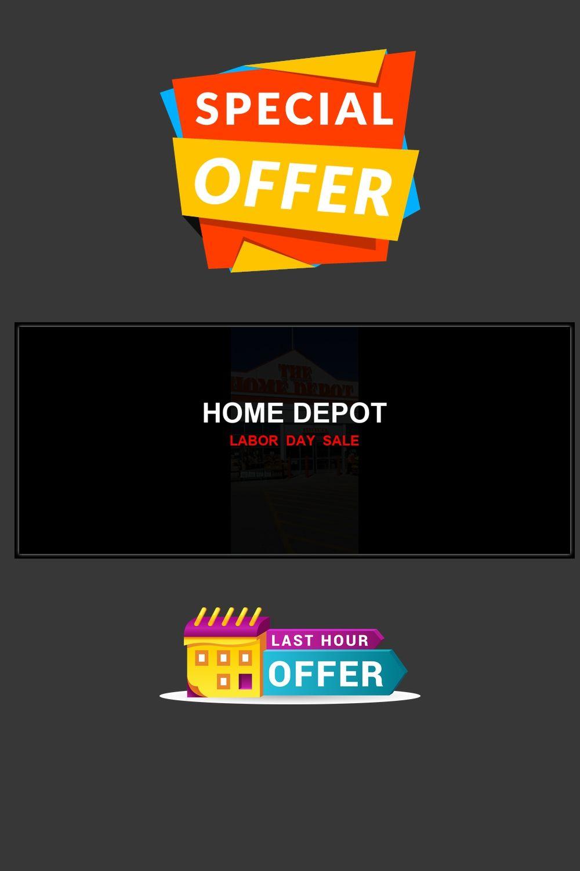 3 Best Home Depot Labor Day Deals Discounts 2020 Home Depot Day Depot