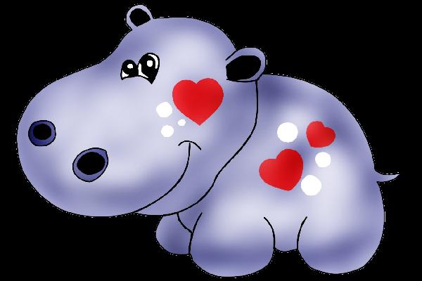 Hippo Clipart Hippo Luv Pinterest