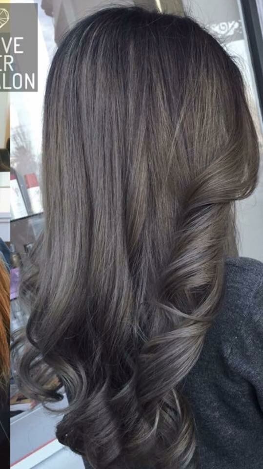 Brown hair pinterest